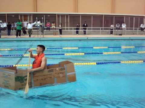 Lbhs Luther Burbank High School Njrotc Cardboard Boat