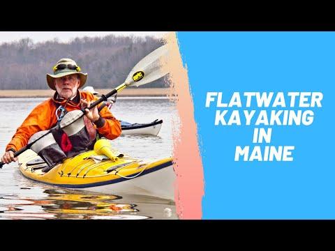 Flatwater Kayaking In Maine