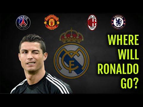CRISTIANO RONALDO LEAVING REAL MADRID! | TRANSFER RUMOURS | CHELSEA? PSG? MAN UNITED? MILAN? CHINA?