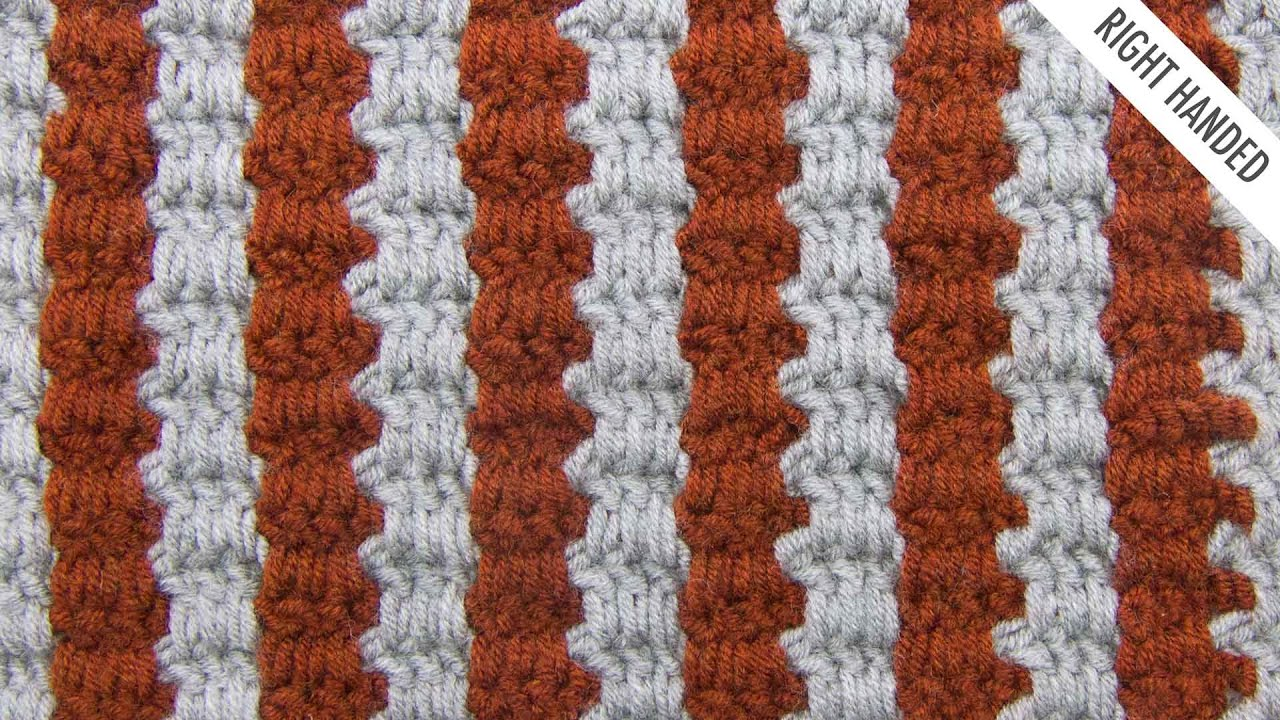 The two color interlocking block stitch crochet stitch 339 the two color interlocking block stitch crochet stitch 339 right handed bankloansurffo Image collections