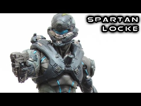 McFarlane Halo 5 SPARTAN LOCKE Figure Review