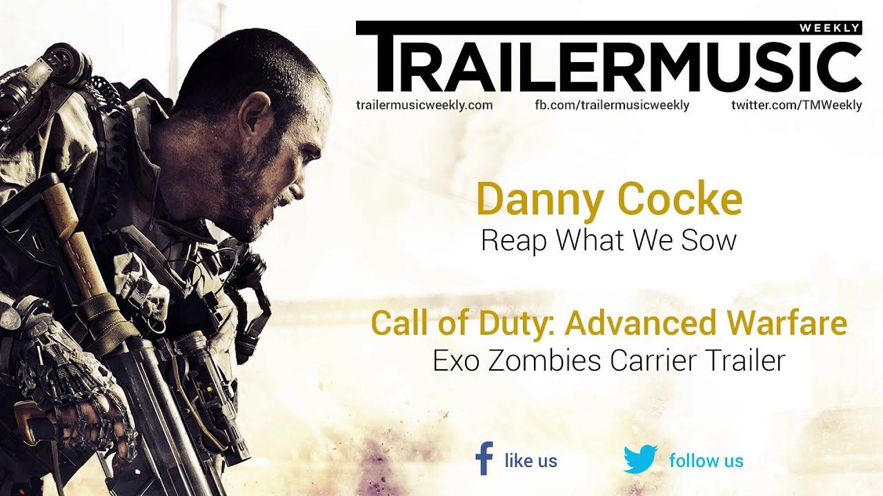 Call Of Duty Advanced Warfare Exo Zombies Carrier Trailer Music - Call duty exo zombies trailer looks epic