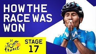 How The Race Was Won | Tour de France 2018 Stage 17 | Cycling | Eurosport