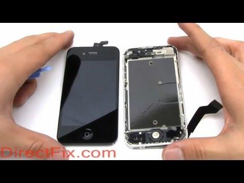 How To: Replace iPhone 4S Screen | DirectFix.com