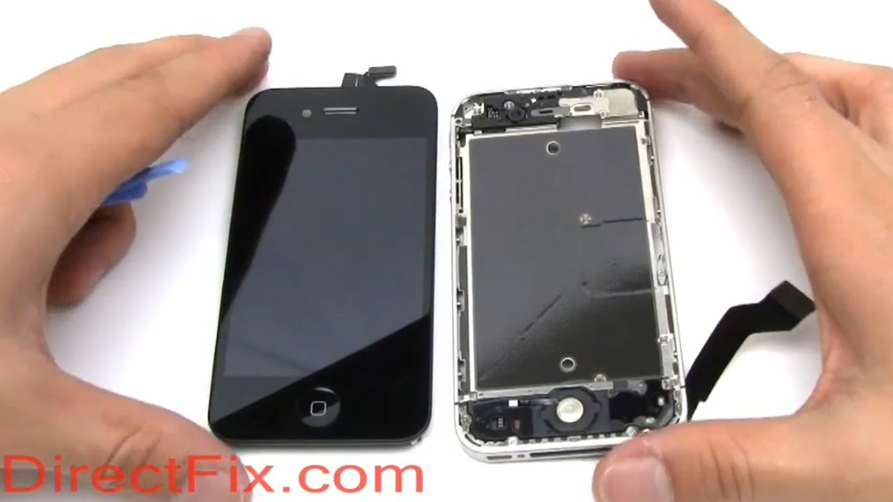 replace iphone 4s screen how to replace iphone 4s screen directfix 9234