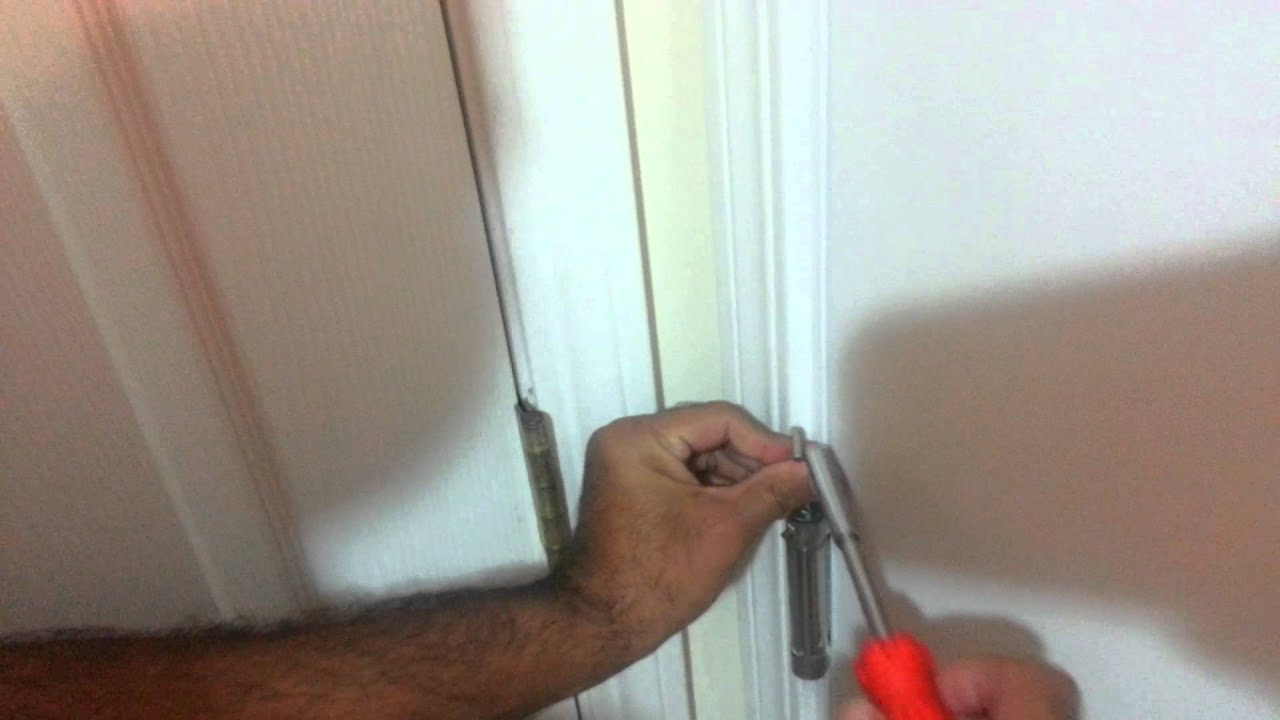 Remove Hinges From Self Closing Door