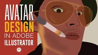 CUSTOM AVATAR TIPS AND TECHNIQUES IN ILLUSTRATOR | Graphic Design Tutorials | Satori Graphics