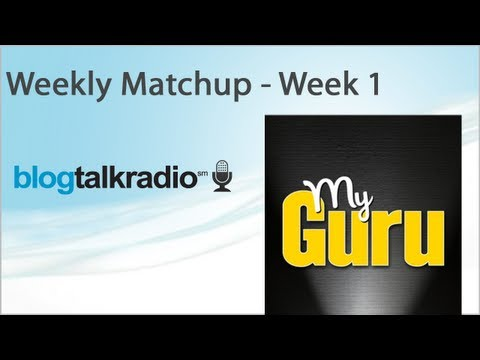 ✪ Sports - NFL Weekly Matchup - Week 1