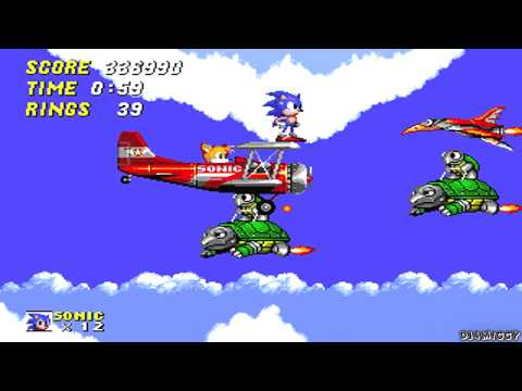 Sonic 2 - Sky Chase Zone