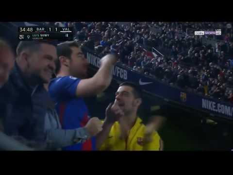 Barcelona vs Valencia 1-1 La Liga 19.03.2017