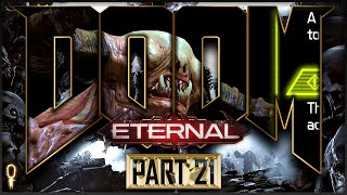Nekravol Part II | Doom ETERNAL Nightmare | Let's Play Part 21 | VOD |