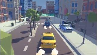 3D City 2 Player Racing | Car racing Games | Walkthrough Level 1-4