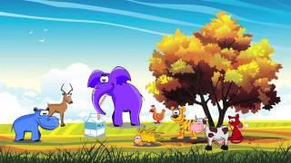 Chanson en Français pour enfants - Children's song in French - Animals - Animaux