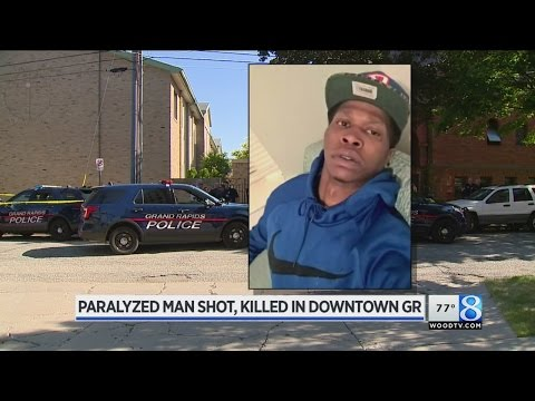 Paralyzed Man Killed In Downtown GR Shooting