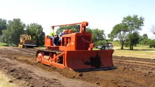 Repeat youtube video 2011 Penfield I&I Show Biggest Allis Chalmers Caterpillar 1950 HD19 7/8/11