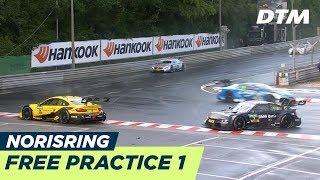 Dtm norisring 2018 - free practice 1 - re-live (german)