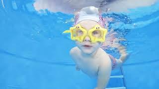 Грудничковое плавание в Новороссийске   Умею Плавать #01