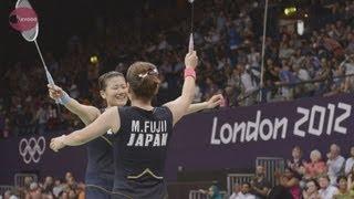 バド日本初のメダル確定  女子ダブルス決勝進出