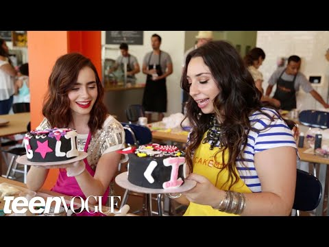 Lily Collins and Liana Weston  Besties  Teen Vogue