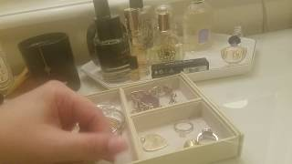 Non VCA and Cartier Jewelry collection!  My gold and silver items. :)