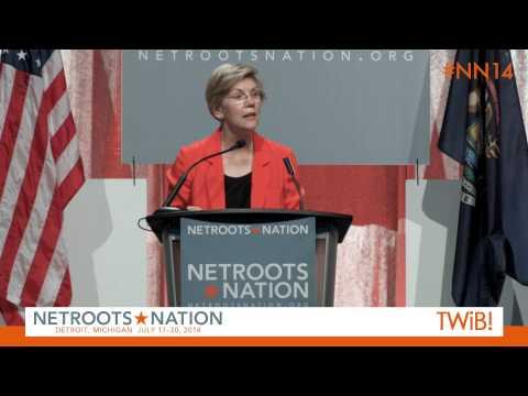 Sen. Elizabeth Warren at @Netroots_Nation | #NN14 - HD-4.Com