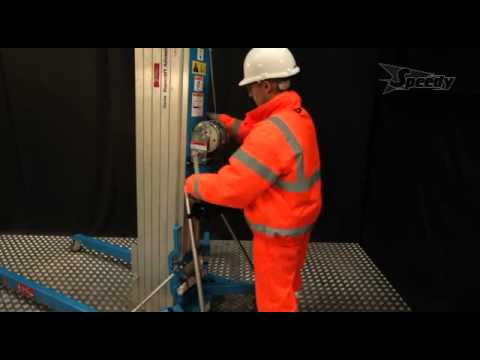 Speedy Services - Genie Material Lift