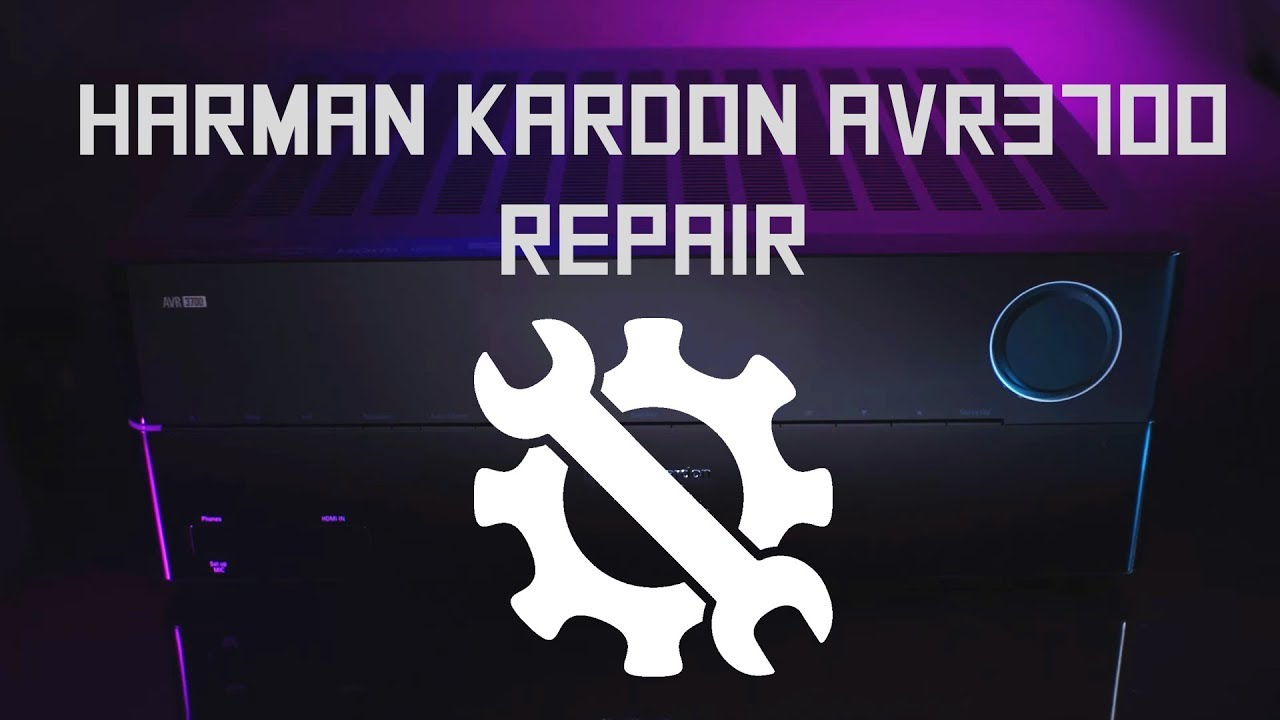 Harman Kardon avr 340 fix*no tunner no inputs* by Karma