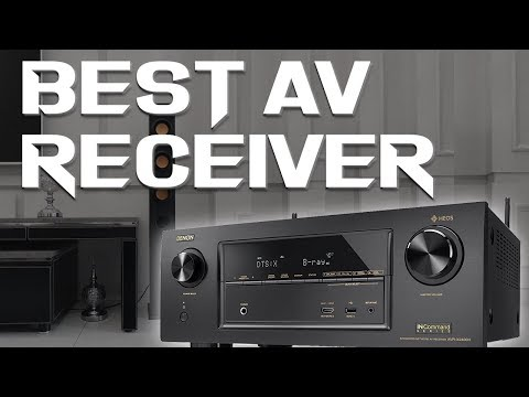 10 Best Receivers 2019 - Budget Home Theater AV Receiver System Review
