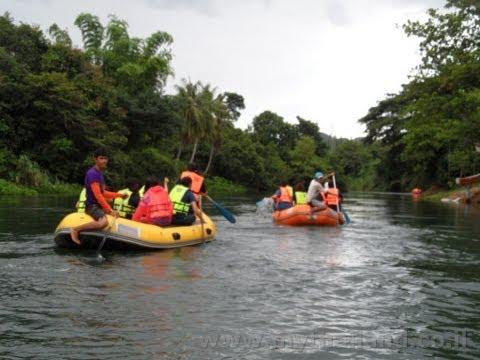Rafting at Kaeng Krachan National Park - Thailand