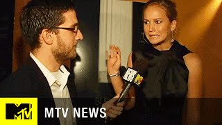 Jennifer Lawrence Obviously Makes A Fart Joke During Her First MTV Interview Ever | MTV News