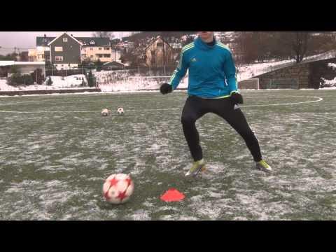 Young football Talent from Norway/Estonia Training + |Skills| |Free kicks|