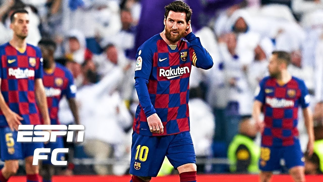 Lionel Messi Scores Controversial Penalty, Barcelona Beat Real ...