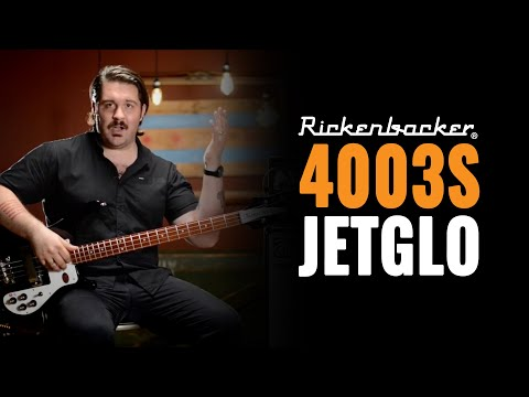Rickenbacker 4003S Jetglo and Ampeg V-4B | Bass Guitar Demo