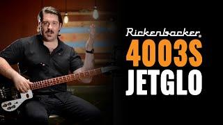 Rickenbacker 4003S Jetglo and Ampeg V-4B | Bass Guitar Demo