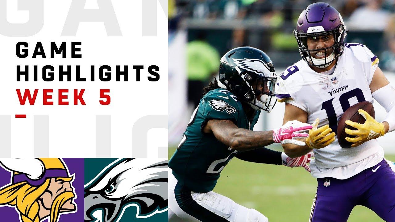 vikings-vs-eagles-week-5-highlights-nfl-2018