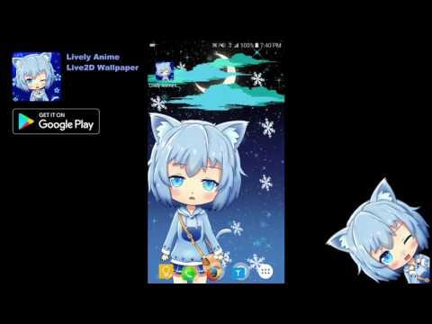Cat Girl Anime Live Wallpaper