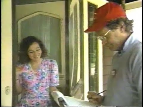 Amateur Census Survey Remote on Late Night, June 22, 1990