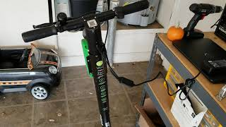 Juice Lime Scooters On Solar