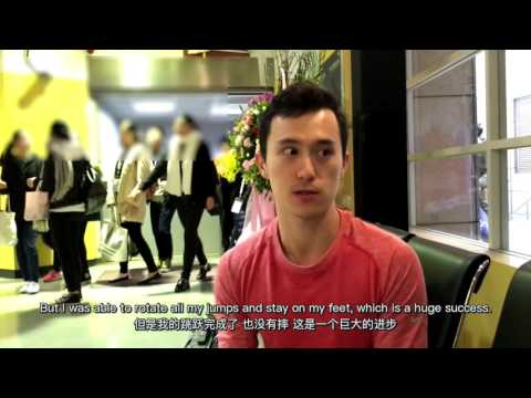 Patrick Chan interview (between SP and FS of 2016 4CC)