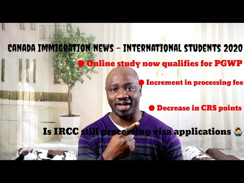 Canada Immigration News International Students 2020