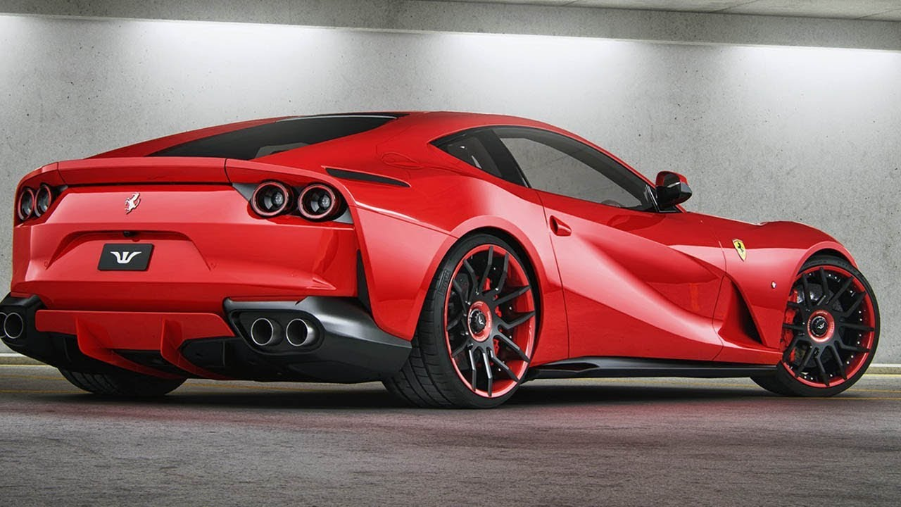 Ferrari 812 Superfast Gets A Modest Upgrade By