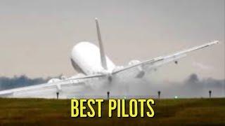 Crosswind Landing at 60 knots - Pilot Skills Beoing vs. Airbus vs. Cessna vs. Pilatus