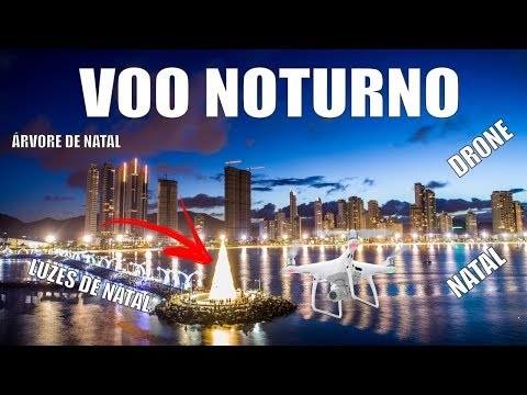 Voo Noturno em Balneário Camboriú – JC Drones em 4K