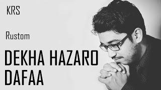 Dekha Hazaro Dafa Instrumental | Arijit Singh & Palak muchhal | Rustom | KRS