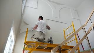 Installing a Mouldex Mouldings Accent Wall