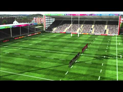 Rugby World Cup 2015 Gameplay New Zealand vs France PS3 HD