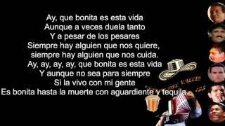 Esta Vida -  Jorge Celedón & Jimmy Zambrano (Letra)