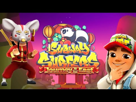 SUBWAY SURFERS 2021 : JOURNEY TO THE EAST! |