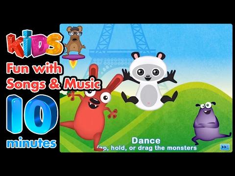 😃Kids Songs  - Musical Me iPad gameplay ~10 minutes of fun😃