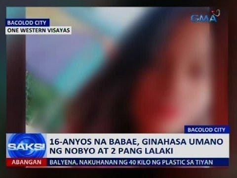 Saksi: 16yo na babae, ginahasa umano ng nobyo at 2 pang lalaki
